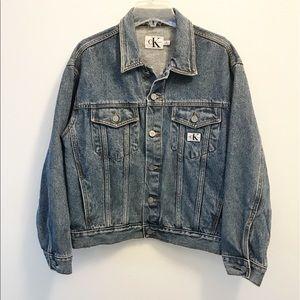 Vintage Calvin Klein Denim Jacket!!
